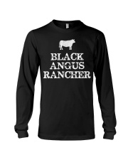 Black Angus Rancher Shirt Cattle  Long Sleeve Tee thumbnail