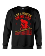 Mens I Am A Mountain Biking Dad T-shirt F Crewneck Sweatshirt thumbnail