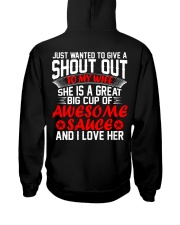 MY WIFE IS A GREAT BIG CUP OF AWESOME SAUCE Hooded Sweatshirt thumbnail