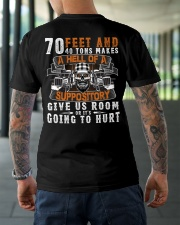 GIVE US ROOM OR IT'S GOING TO HURT Classic T-Shirt lifestyle-mens-crewneck-back-3