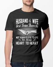 HUSBAND AND WIFE - BEST TEAM THERE IS Classic T-Shirt lifestyle-mens-crewneck-front-13
