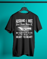 HUSBAND AND WIFE - BEST TEAM THERE IS Classic T-Shirt lifestyle-mens-crewneck-front-3