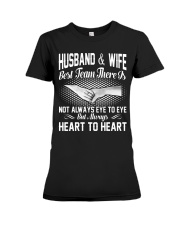 HUSBAND AND WIFE - BEST TEAM THERE IS Premium Fit Ladies Tee thumbnail