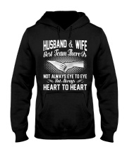 HUSBAND AND WIFE - BEST TEAM THERE IS Hooded Sweatshirt thumbnail