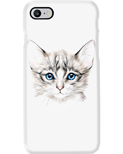 Phone Case Cats Face