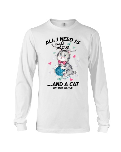 All I Need Is Love And A Cat