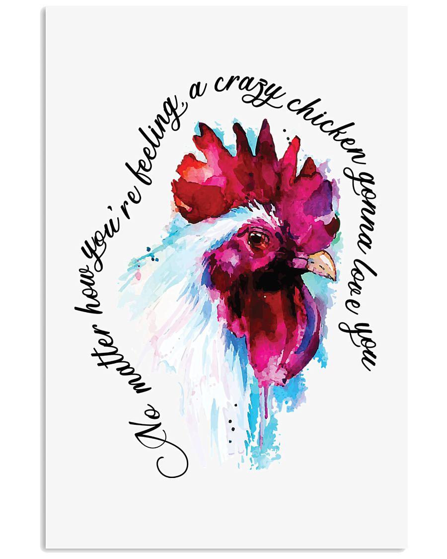 Crazy Chicken Gonna Love You 11x17 Poster