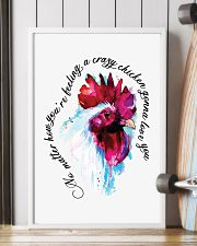 Crazy Chicken Gonna Love You 11x17 Poster lifestyle-poster-4