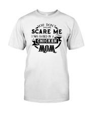 I was raised by a chicken mom shirt Classic T-Shirt thumbnail