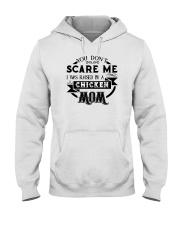 I was raised by a chicken mom shirt Hooded Sweatshirt thumbnail