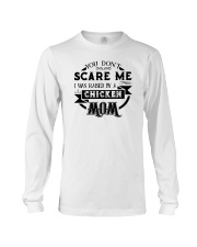 I was raised by a chicken mom shirt Long Sleeve Tee thumbnail