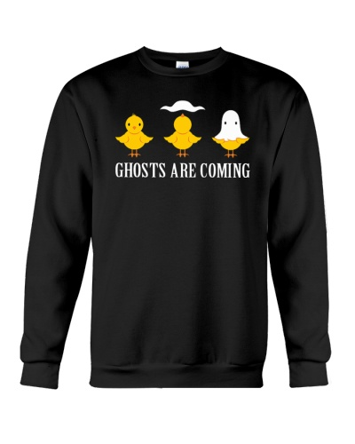 Ghosts are coming shirt