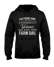 God made farm girl shirt Hooded Sweatshirt thumbnail