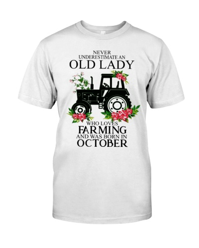 Farmer never undertimate an old lady October