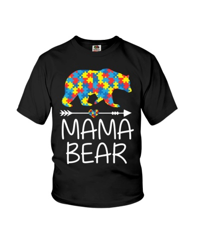 Mama Bear - Autism Awareness 2018