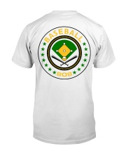 Baseball in the 808 Classic T-Shirt back