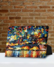 102 SOLD: VALLETTA PAINTING PANORAMIC VIEW  10x8 Easel-Back Gallery Wrapped Canvas aos-easel-back-canvas-pgw-10x8-lifestyle-front-05