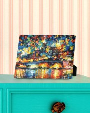 102 SOLD: VALLETTA PAINTING PANORAMIC VIEW  10x8 Easel-Back Gallery Wrapped Canvas aos-easel-back-canvas-pgw-10x8-lifestyle-front-13