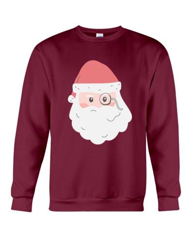 Santa face winter wear