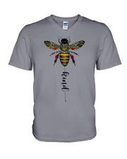 bee kind style 2 V-Neck T-Shirt thumbnail