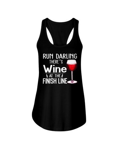 There's wine at the finish line