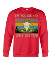 Frog eff you see kay Crewneck Sweatshirt thumbnail