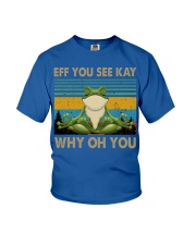 Frog eff you see kay Youth T-Shirt thumbnail