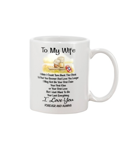 Mug - captain to my wife
