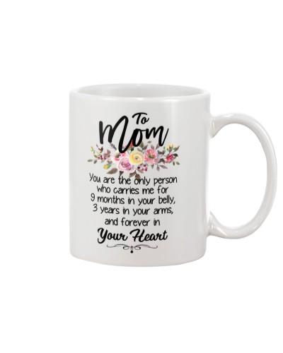 Mug flower - to Mom