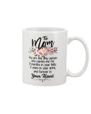 Mug flower - to Mom Mug front