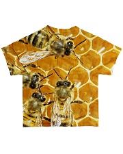 Bees fullprint tee All-over T-Shirt back