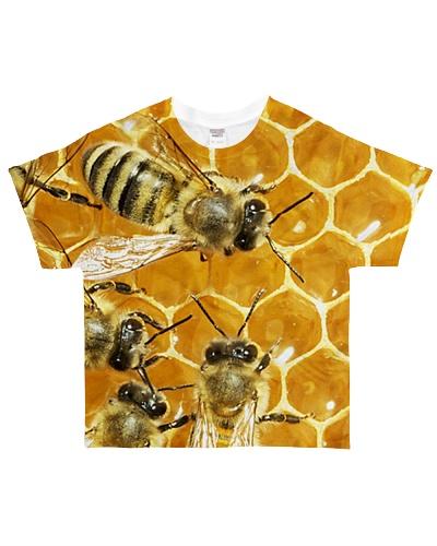 Bees fullprint tee