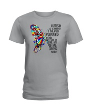 Butterfly autism mom Ladies T-Shirt thumbnail