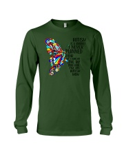 Butterfly autism mom Long Sleeve Tee thumbnail