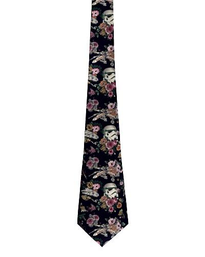 Stormtrooper flower tie