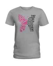 I'm the storm - Breast cancer awareness Ladies T-Shirt thumbnail