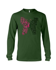 I'm the storm - Breast cancer awareness Long Sleeve Tee thumbnail