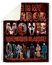 """This Is My Horror Movie  Sherpa Fleece Blanket - 50"""" x 60"""" thumbnail"""