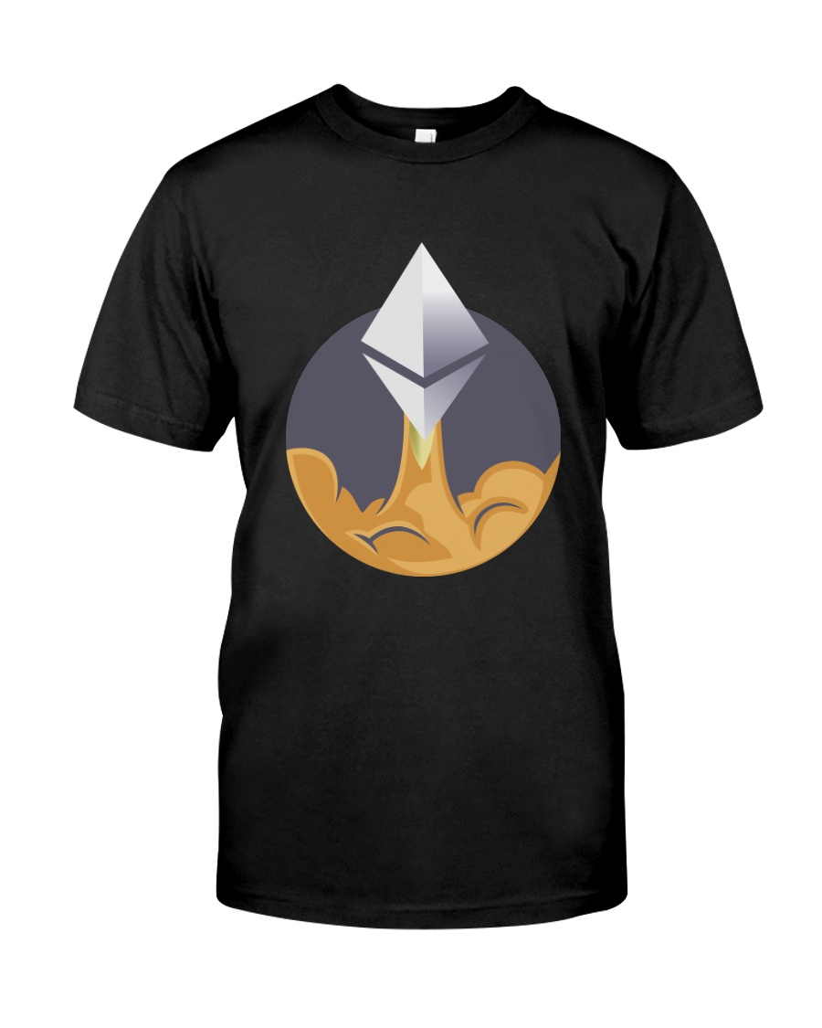 Ethereum To The Moon TShirt Classic T-Shirt