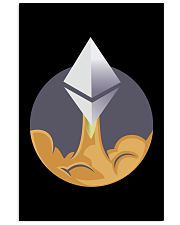 Ethereum To The Moon TShirt 16x24 Poster thumbnail