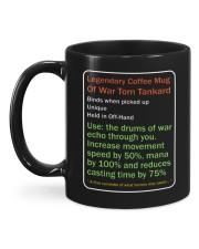 LEGENDARY COFFEE MUG OF WAR TORN TANKARD Mug back
