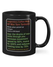 LEGENDARY COFFEE MUG OF WAR TORN TANKARD Mug front