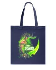 I AM MY SCARS Tote Bag thumbnail