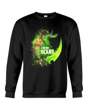 I AM MY SCARS Crewneck Sweatshirt front