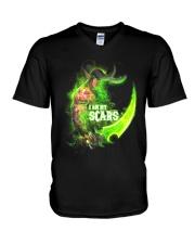 I AM MY SCARS V-Neck T-Shirt thumbnail