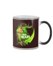 I AM MY SCARS Color Changing Mug thumbnail