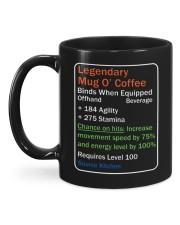 LEGENDARY MUG OF COFFEE Mug back