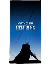 ALL-OVER PRINT VER 3-  LICH KING Premium Beach Towel thumbnail