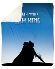 """ALL-OVER PRINT VER 3-  LICH KING Sherpa Fleece Blanket - 50"""" x 60"""" front"""