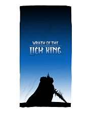 ALL-OVER PRINT VER 3-  LICH KING Beach Towel thumbnail